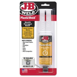 JB Weld PlasticWeld Syringe