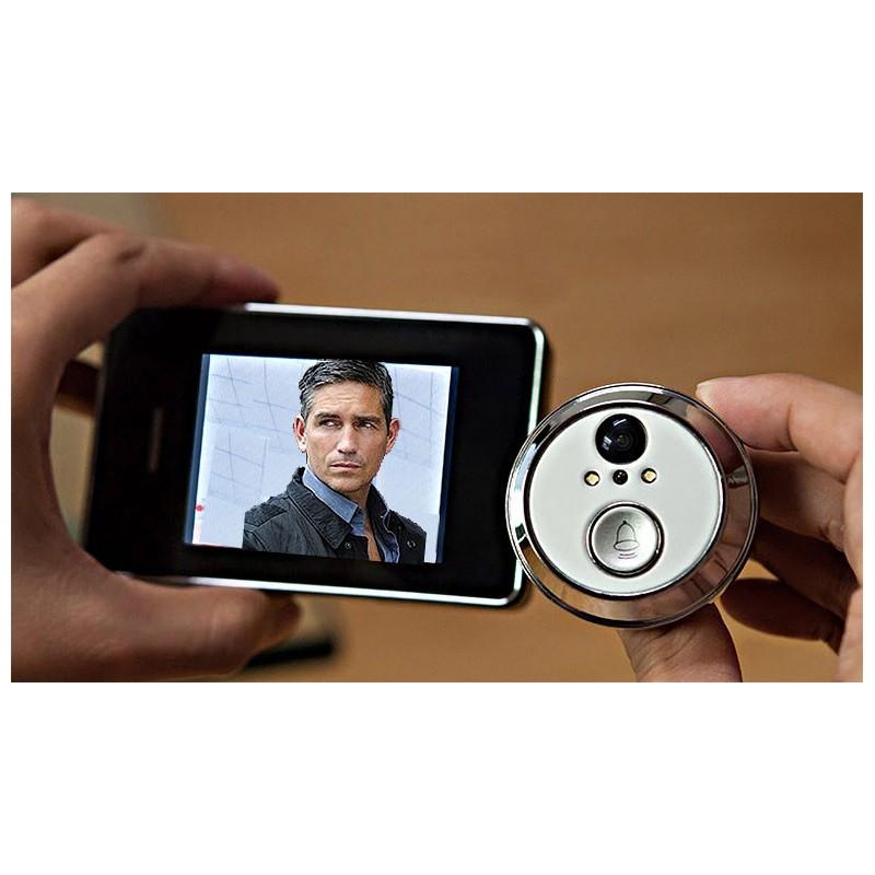 peephole front ecurity doors camera wifi door