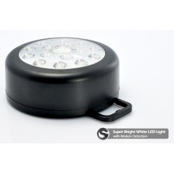 Portable Bright White LED Light- Motion detection