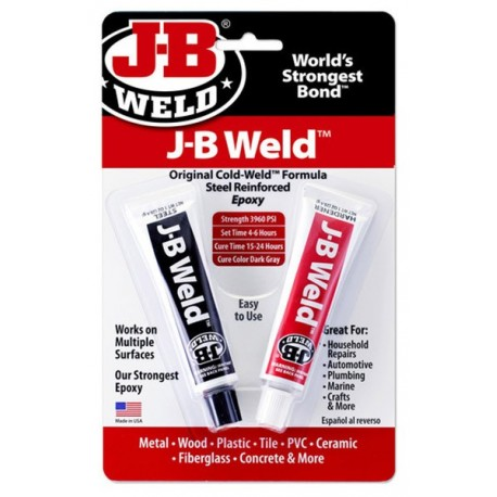 JB Weld Twin Tube epoxy