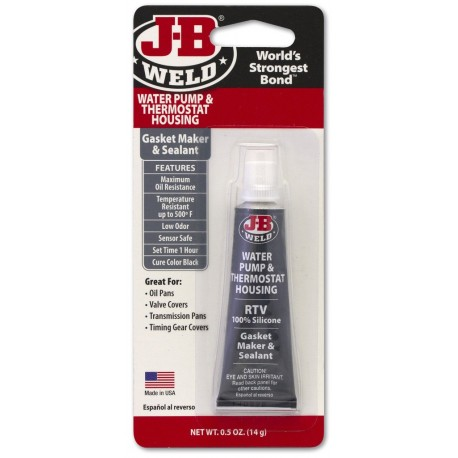 JB Weld Gasket Maker for Water Pump & Thermostat Housing