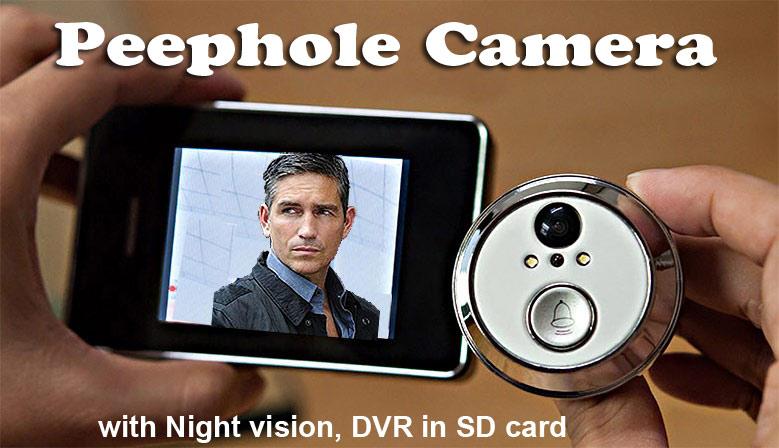 Door PeepHole Camera